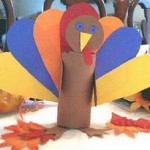 Paper Turkey Decoration