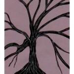 spooky tree invitation
