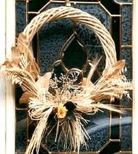 Dried Fall Wreath All Free Crafts