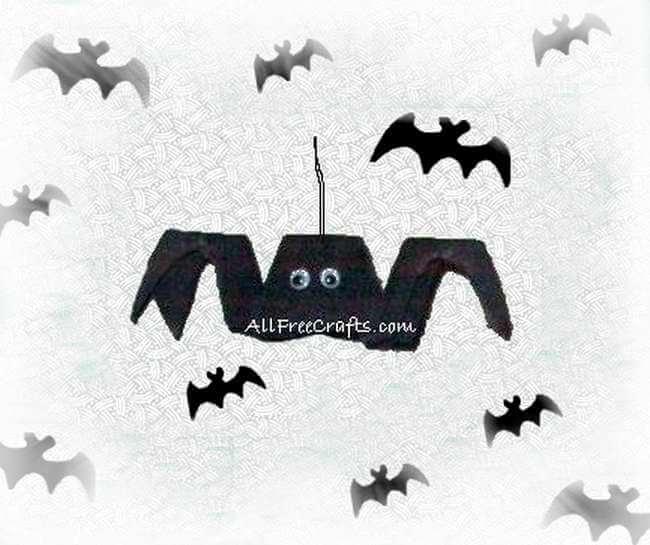 bat made from an egg carton