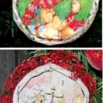 Juice Lid Ornaments