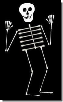 Easy Halloween Skeleton Crafts