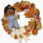 fall scarecrow wreath