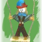 Scarecrow on a Swing
