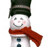 Candlecup Snowman