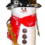 coffee creamer snowman