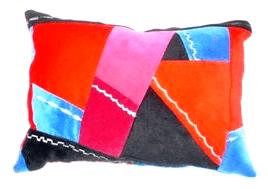 crazy quilt pillow