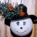 Snowman Bulb