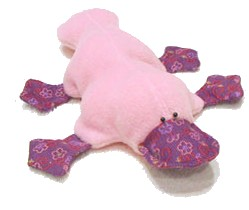 platypus soft toy pattern