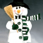snowman wobbler