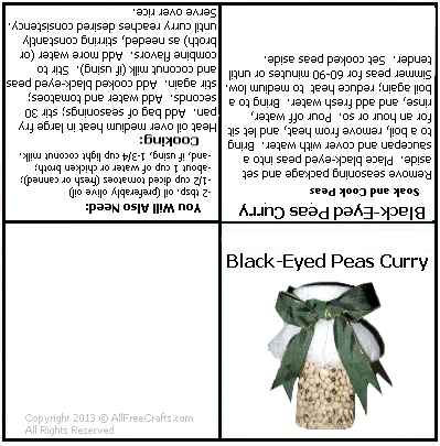 curry label