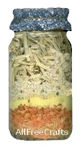 chicken noodle soup jar mix
