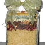 cranberry nut couscous jar mix
