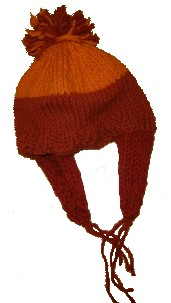 free knitting pattern to make a hat with beanie styling and ear flaps