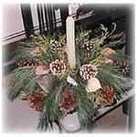 Fresh Pine Centerpiece