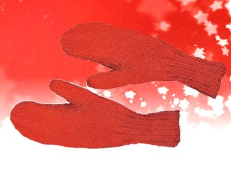 Two Needle Mittens