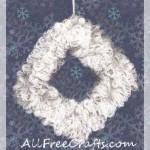 Coat Hanger Wreath