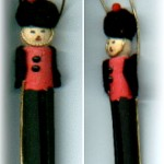 Clothespin Toy Soldier