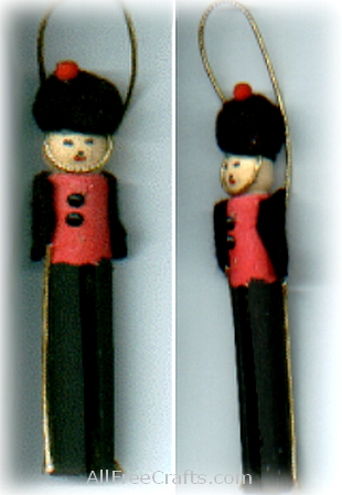 clothespin soldiers