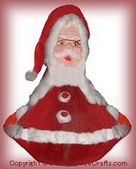paperback book Santa