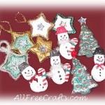 salt dough christmas ornaments