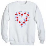 Painted Heart Shirt