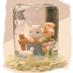 Bunny Water Globe
