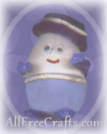 humpty dumpty from a plastic egg