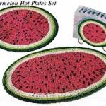 Watermelon Mats