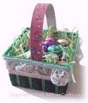Easter berry basket