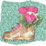 Baby Shoe Floral