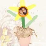 Craft Stick Daffodil