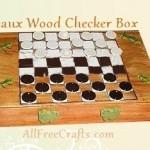 Pizza Box Checkers