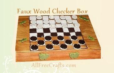pizza box checkers game