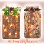 Lighted Potpourri Jars
