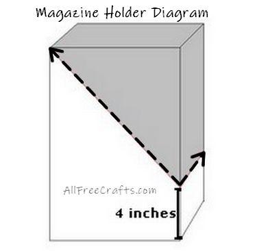 magazine holder diagram