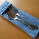 Denim Cutlery Pouch