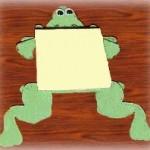 Froggy Notepad