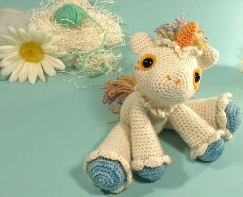 crochet unicorn pattern