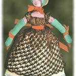 crocheted Empress Josephine doll pattern