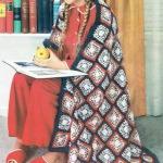 americana afghan crochet pattern