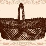straw work basket