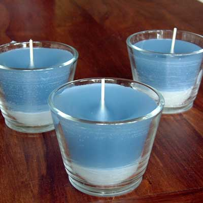 candles made from recycled candle wax
