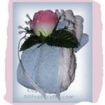 Floral Washcloth