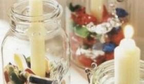 seasonal candy candles