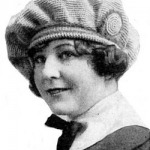 crocheted tam o'shanter hat