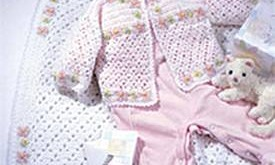 Embroidered Baby Layette