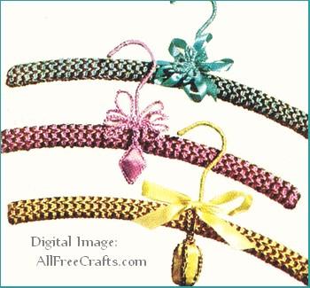 Free Crochet Pattern For Coat Hanger Covers