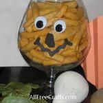 Brandy Glass Pumpkins