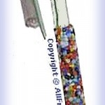 Seed Bead Gel Pen